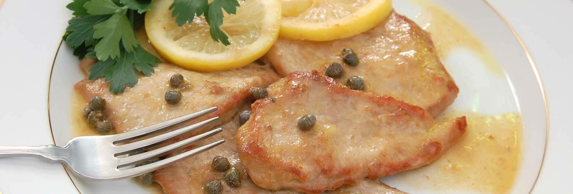 Brunello & Scaloppine al limone