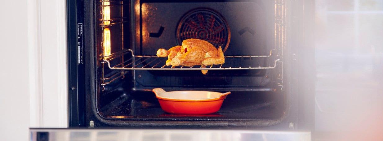 Während ca. 25 Minuten im Ofen garen.