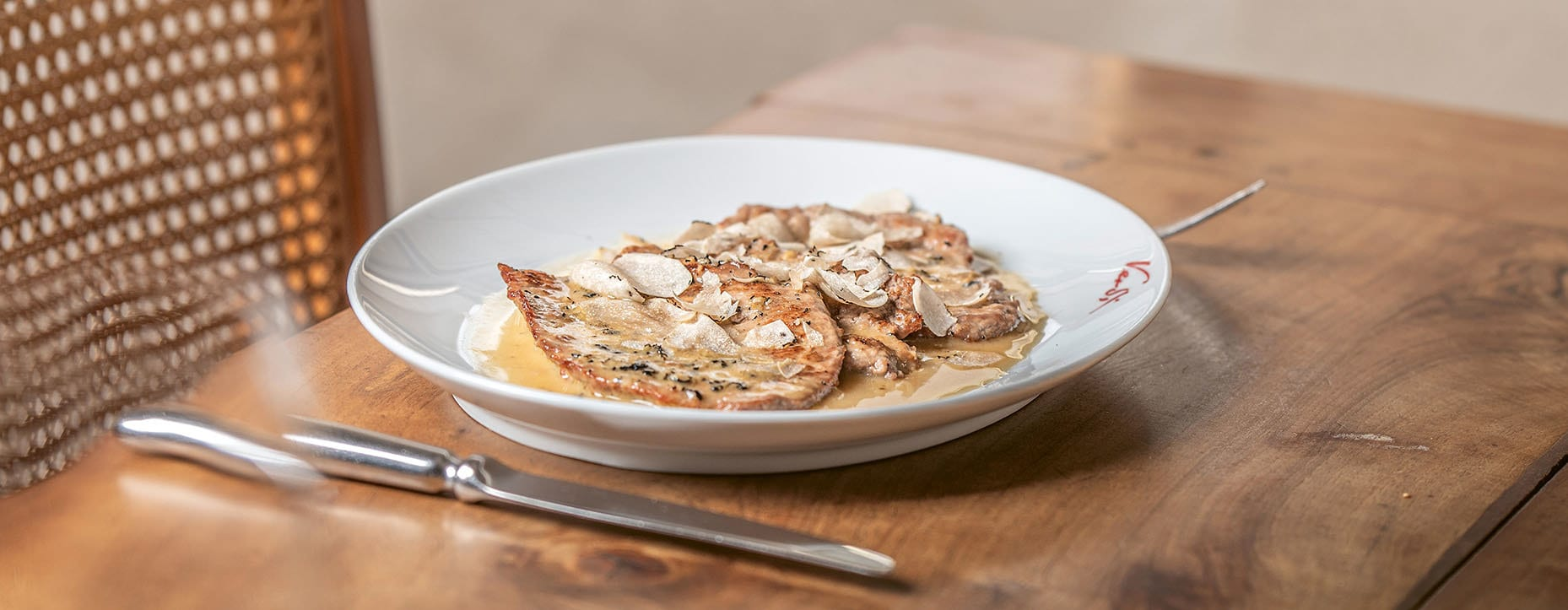 Scaloppine di vitello con tartufo